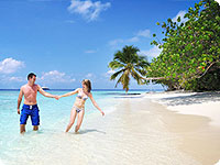 Maldivi, poročno potovanje, hotel Bandos Island Resort