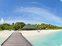 Maldivi, poročno potovanje, hotel Holiday Island Resort