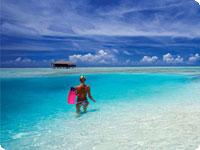 Maldivi, poročno potovanje, hotel Medhufushi Island Resort