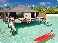 Maldivi, poročno potovanje, hotel Paradise Island Resort