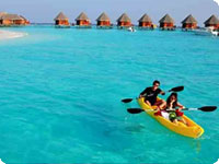 Maldivi, poročno potovanje, hotel Thulhagiri Island Resort