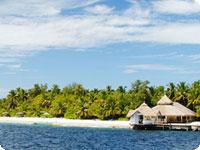 Maldivi, poročno potovanje, hotel Chaaya Reef Ellaidhoo