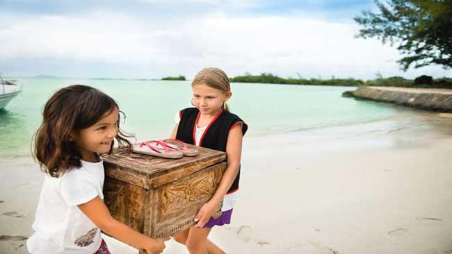 Mauritius, potovanje za družine, hotel Zilwa Attitude, lov za zakladom