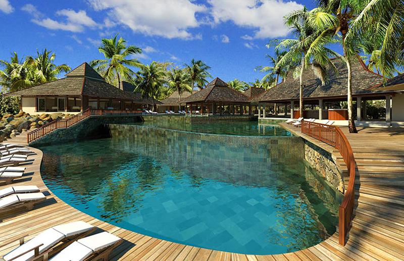 Mauritius, potovanje za družine, hotel Zilwa Attitude, bazen