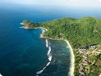 Sejšeli, poročno potovanje, hotel Anse Soleil Beachcomber