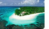 Sejšeli, hotel Denis Island Resort