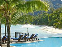 Sejšeli, poroka, hotel Le Meridien Fishermans Cove