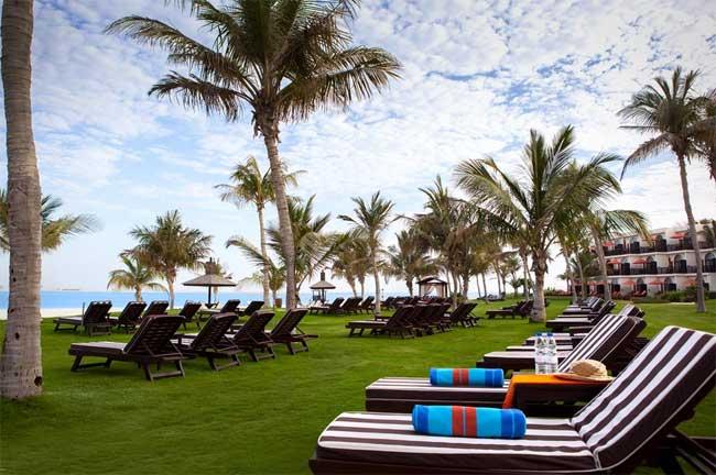 Dubai počitnice, hotel JA Palm Tree Court, plaža