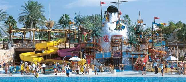 Dubai počitnice, hotel Jumeirah Beach Hotel, Wild Wadi vodni park