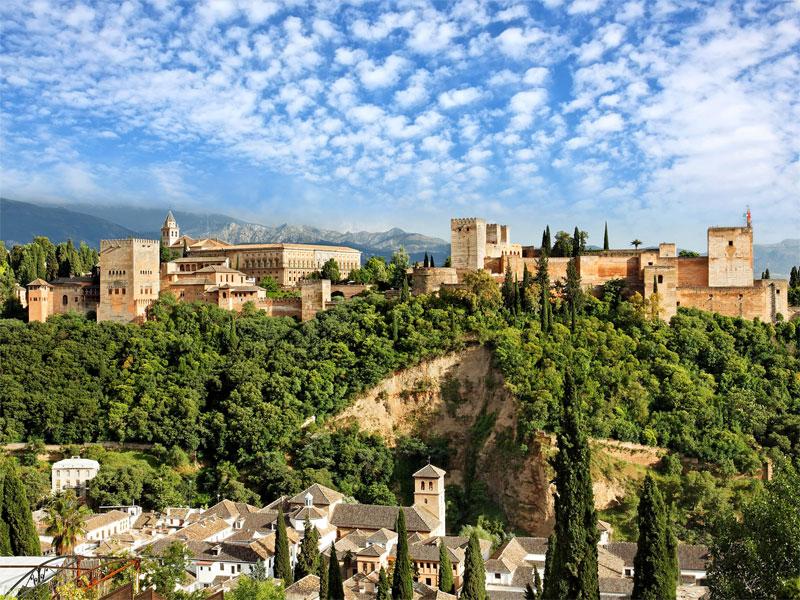 Španija, Granada, Alhambra