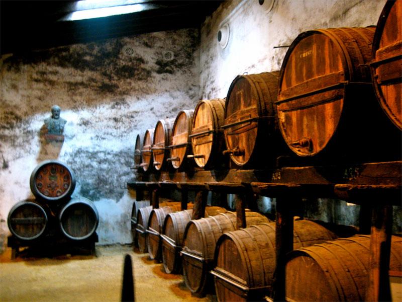 Španija, Jerez de la Frontera vinska klet