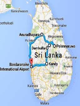 Potovanje Šri Lanka