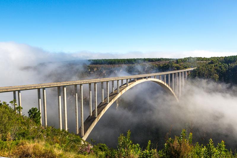 Potovanje Južna Afrika, Garden Route, most Bloukrans