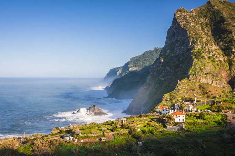 Madeira potovanje, severna obala