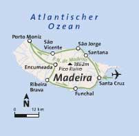Potovanje Portugalska, Madeira
