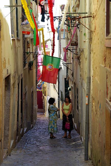 Potovanje Portugalska, Lizbona, Alfama