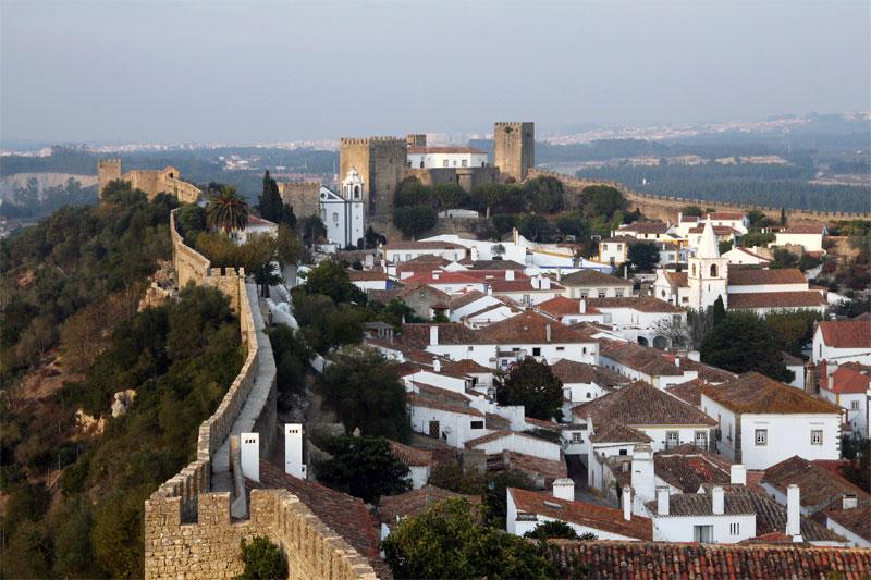 Potovanje Portugalska, Obidos