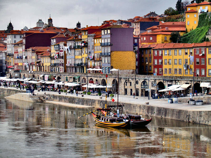 Potovanje Portugalska, Porto, Ribeira
