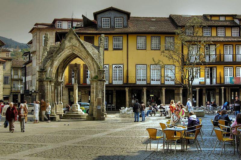 Potovanje Portugalska, Guimaraes