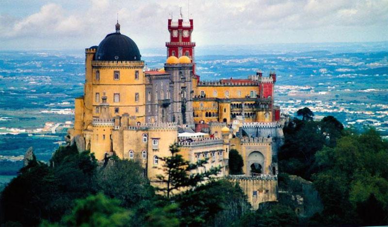 Potovanje Portugalska, Sintra, Palcio Pena