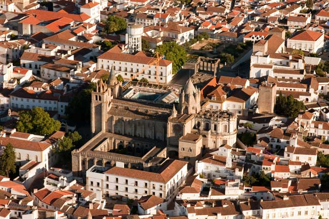 Portugalska potovanje, Evora