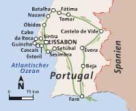 Potovanje Portugalska