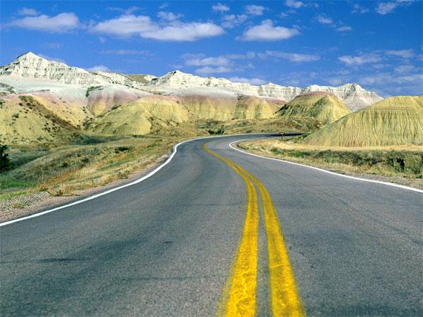 ZDA potovanje, Badlands National Park