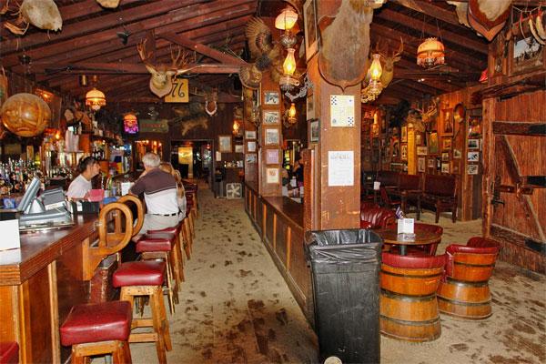 ZDA potovanje, Deadwood, saloon