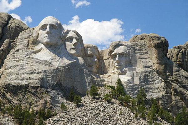 ZDA potovanje, Mount Rushmore