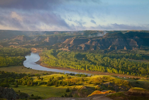 ZDA potovanje, Theodore Roosevelt National Park