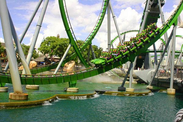 ZDA Potovanja, zabaviščni parki Orlando, Florida