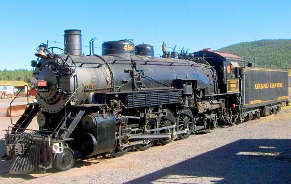 ZDA potovanje, Divji zahod za družine, Grand Canyon historični vlak