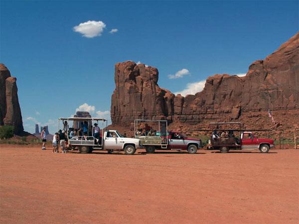 ZDA potovanje, Divji zahod za družine, Monument Valley
