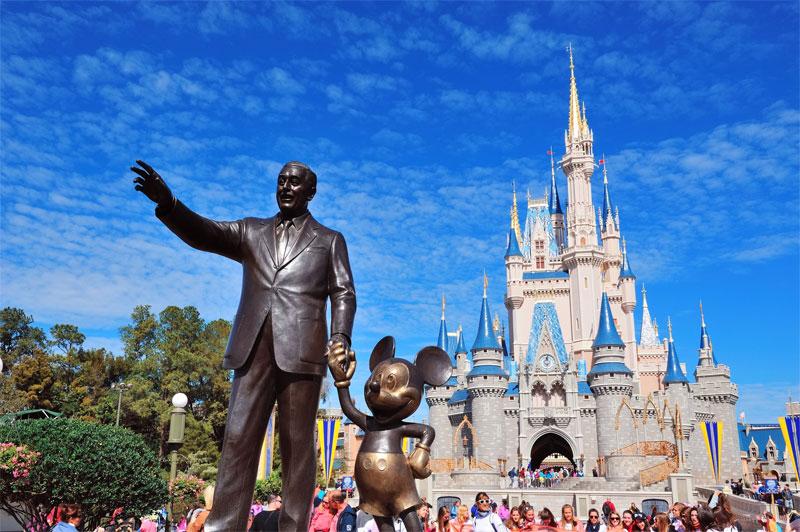 ZDA potovanje, od New Yorka do Miamija,  Florida, Disney World