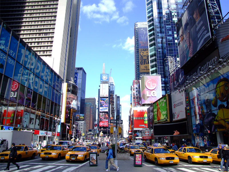 ZDA potovanje, od New Yorka do Miamija, New York