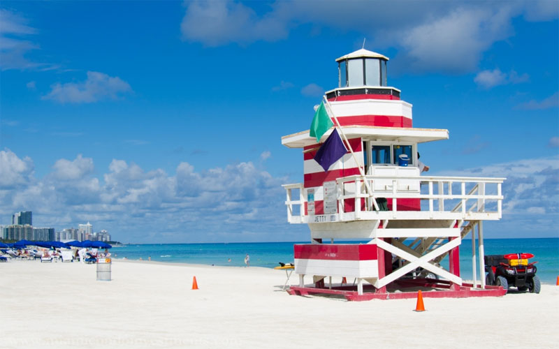 ZDA potovanje, od New Yorka do Miamija,  Florida, Miami Beach