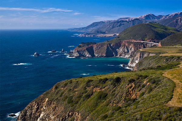 ZDA potovanje, Divji zahod za družine, obala Kalifornije