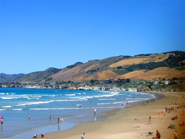 ZDA potovanje, Divji zahod za družine, Pismo Beach