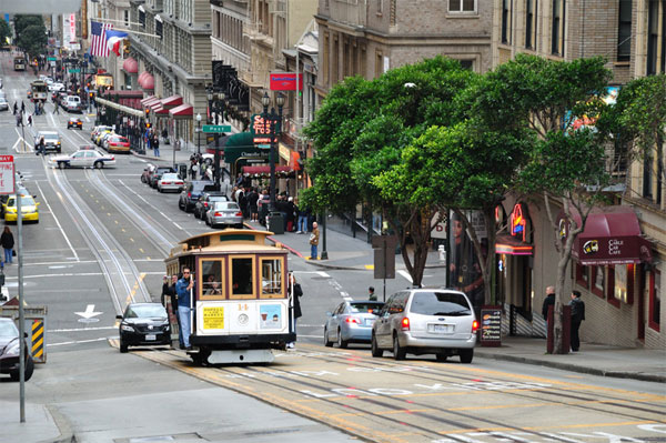 ZDA potovanje, Divji zahod za družine, San Francisco
