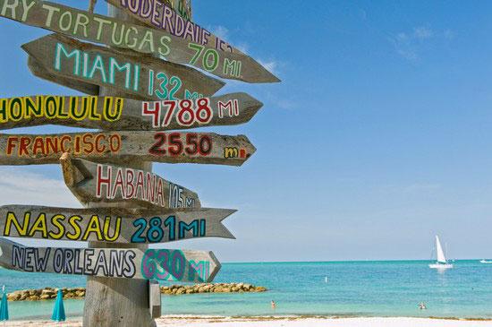 SAD putovanje, Sunčana i zabavna Florida, Key West