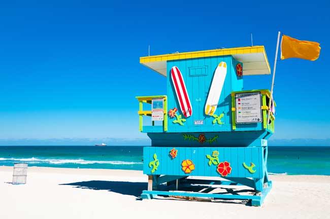 ZDA potovanje, Florida, Miami Beach