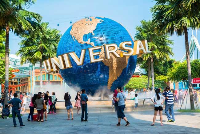 ZDA potovanje, Florida, Universal Studios zabaviščni park