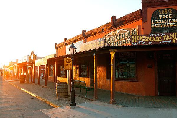 ZDA potovanje, Divji zahod za družine, Tombstone