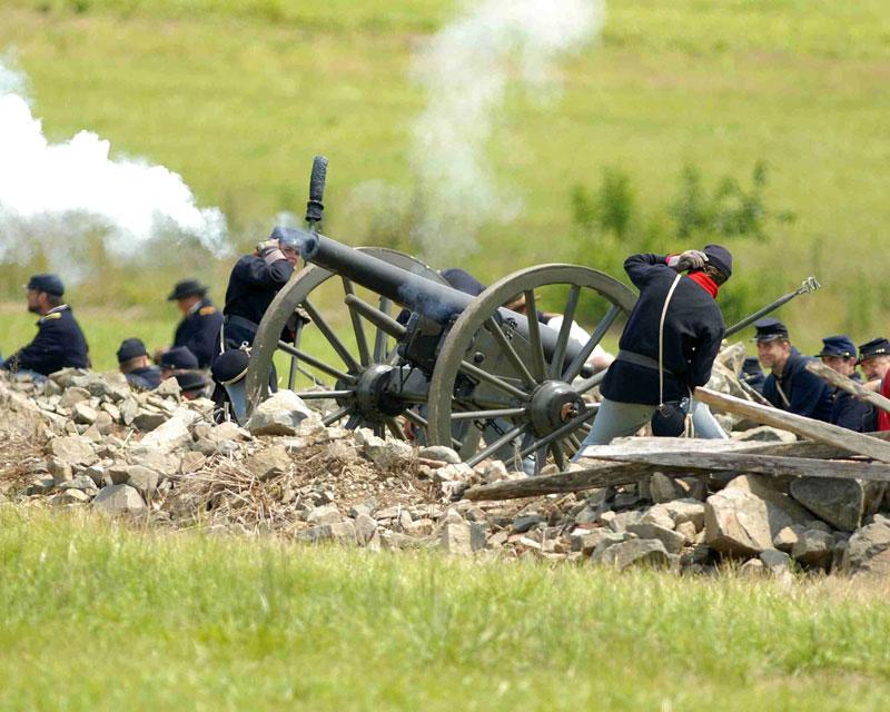 ZDA potovanje, Vzhodna obala in Kanada, Gettysburg