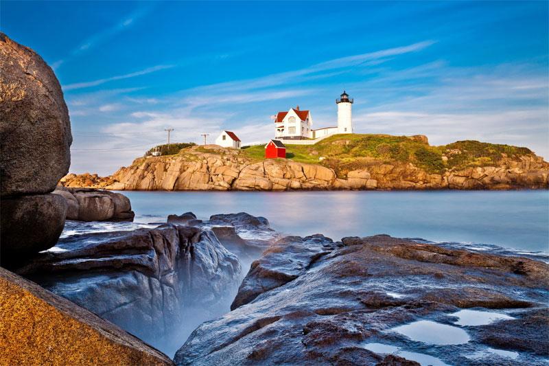 ZDA potovanje, Vzhodna obala in Kanada, obala Maine