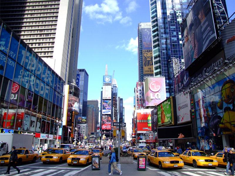 ZDA potovanje, Vzhodna obala in Kanada, New York