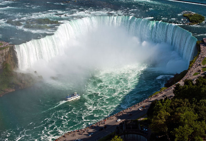 ZDA potovanje, Vzhodna obala in Kanada, Niagara