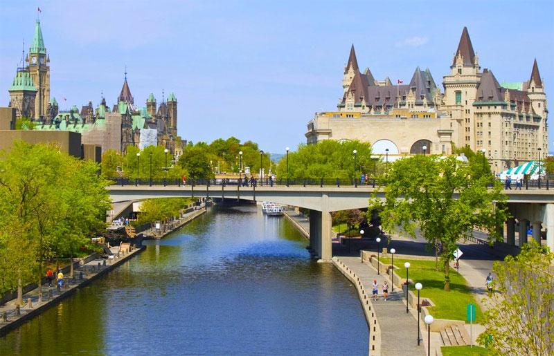ZDA potovanje, Vzhodna obala in Kanada, Ottawa