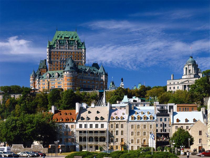 ZDA potovanje, Vzhodna obala in Kanada, Quebec City