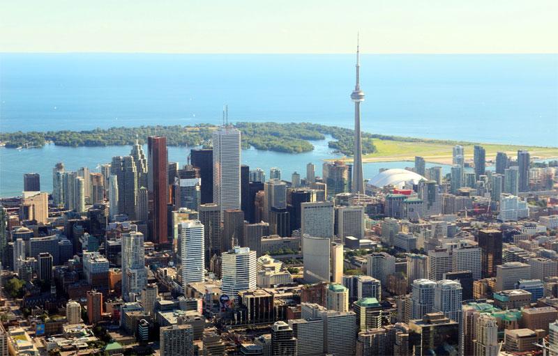 ZDA potovanje, Vzhodna obala in Kanada, Toronto